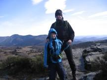 Berg beklommen,..met Darik